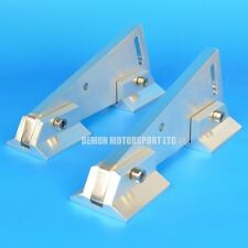 """Pair Of Universal Alloy Spoiler Mounting Brackets With Feet (approx 3"""" Inch)"""