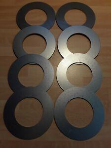 MINI DIGGER EXCAVATOR BUCKET SHIM 35mm I//D 2mm Thickness x 2