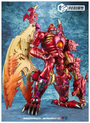 Jiangxing JX-MB-01 Winged Dragon Beast Megatron Transformable Toy