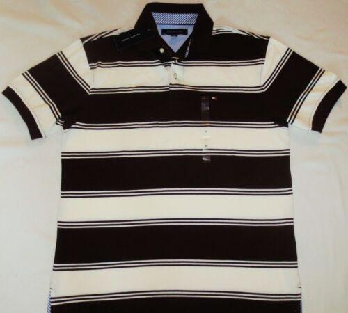 NWT Tommy Hilfiger Mens Classic Striped Polo Shirt S M L XL  $48.00 SALE