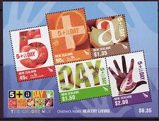 NEW ZEALAND 2006 CHILDRENS HEALTH MINIATURE SHEET UNMOUNTED MINT, MNH