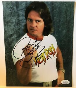 RODDY PIPER  SIGNED 8x10 PHOTO  AUTHENTIC JSA REPRINT