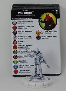 DC Heroclix Joker/'s Wild 017 Red Hood