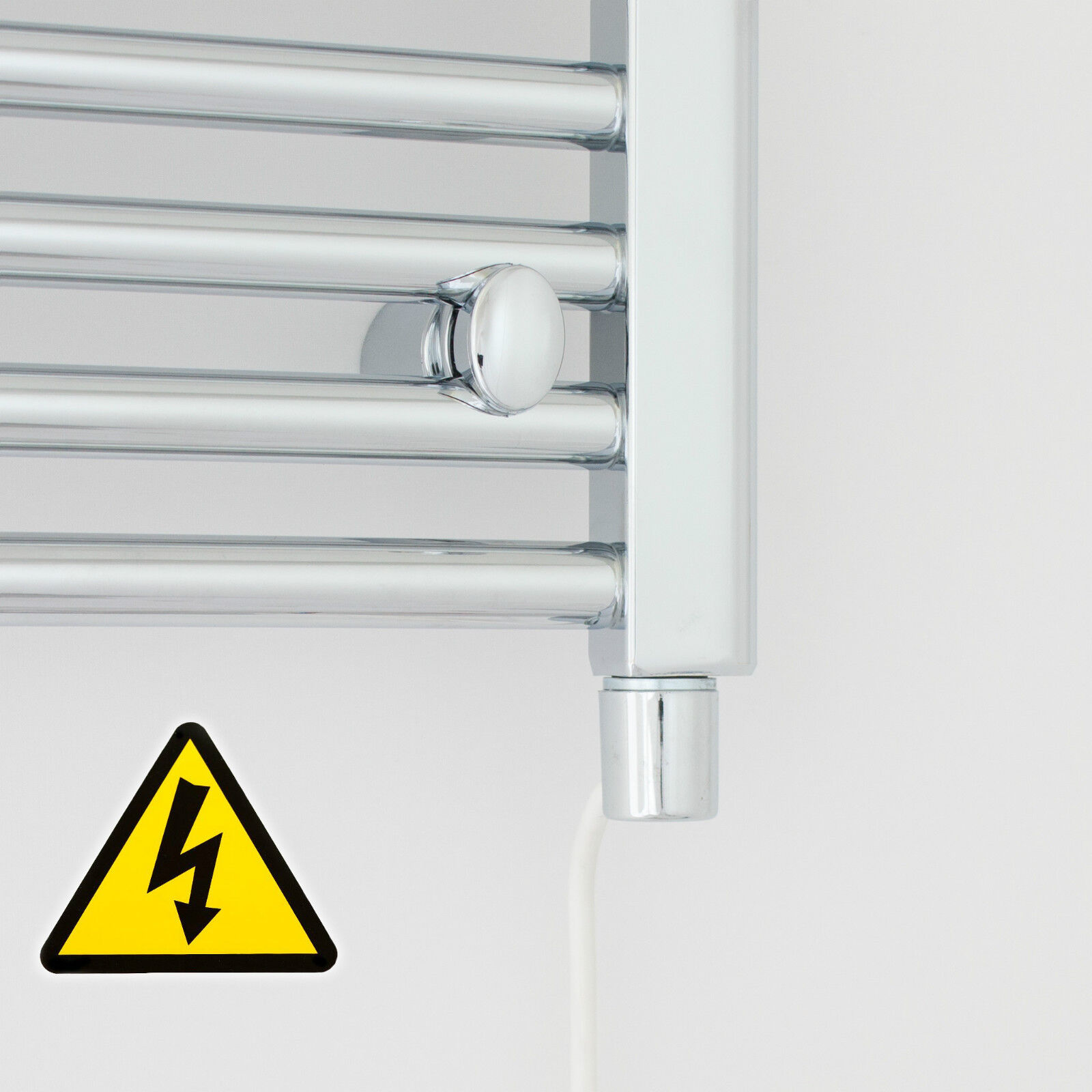 1000 mm High 850 mm Wide Wide Wide Straight Chrome Heated Towel Rail Radiator Bathroom Rad b98765