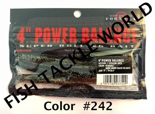 "NORIES JDM Soft Plastic ESCAPE TWIN 4.5/"" POWER BALANCE 4/"" /& 5/"" /& FAT FLAT 5/"""