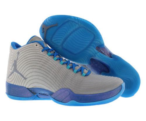 Nike air 749143-104 jordan xx9 playoff pack basket uomini scarpe da ginnastica 11 bianco / blu freddo / pht bl / trqs bl