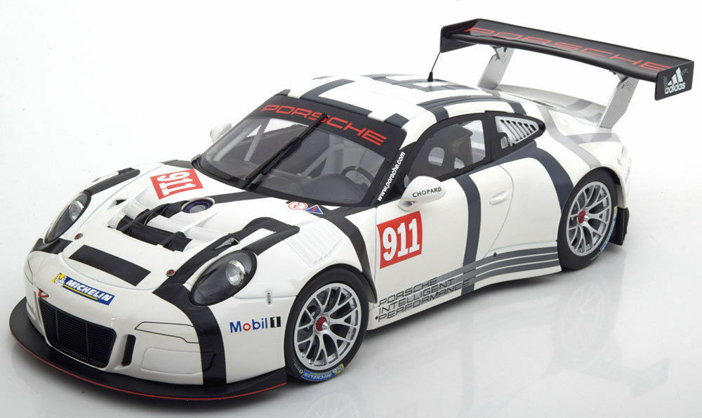 100% autentico Minichamps 2015 2015 2015 Porsche 911 (991) GT3 R presentación 1 18 Edición Limitada 402 PC  Nuevo  buen 911   liquidación hasta el 70%