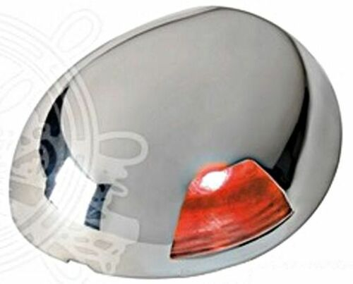 Osculati Sea-Dog Watertight 2-nm Red Left LED Navigation Light Flat Mounting 12V
