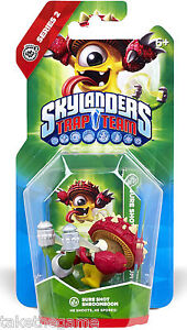 Skylanders-Trap-Team-SURE-SHOT-SHROOMBOOM-Single-Figure-Character-Pack-BNIP