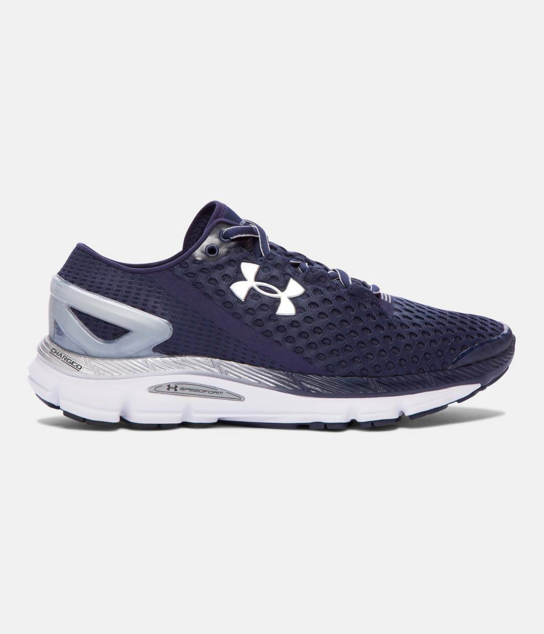 pétalo Celda de poder evitar  Mens Under Armour Speedform Gemini 3 Running Shoes Trainers Blackout Navy  10 for sale online | eBay