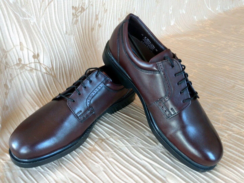 Florsheim Homme Chaussures Comfortech Noble Bourgogne sz. 11 m en cuir 17080-05
