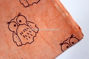 By-The-Yard-Cotton-Voile-Hand-Block-Print-Fabric-Natural-Dyes-Sanganeri-print