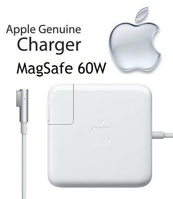 Apple MagSafe 60W Power Adapter for MacBook and 13-inch MacBook Pro MC461LL//A