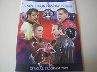 Tommy Jones Pba Bowler 2009 Autographed World Series Of Bowling Program