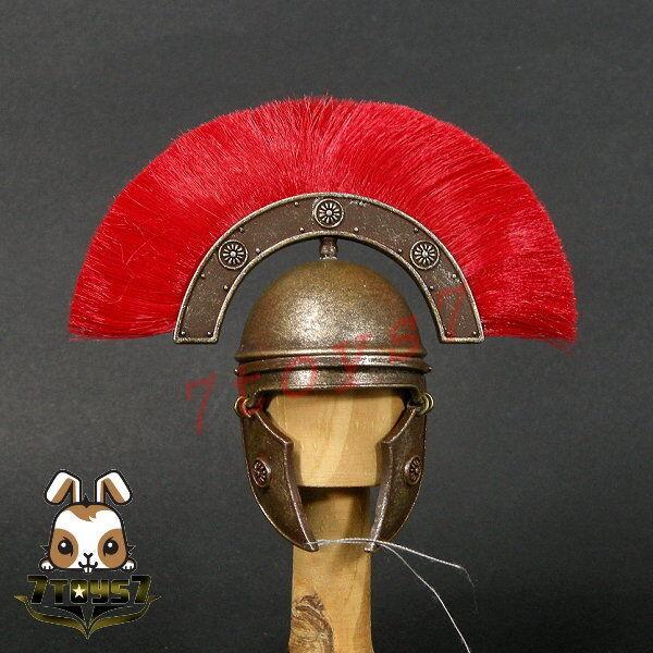 ACI Toys 1 6 Roman Republic Centurion Legio XIII Lucius_ Helmet _Metal AT090B