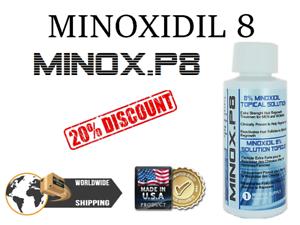 KIRKLAND-MinoxP8-Minoxidil-TRE-MESI-RICRESCITA-CAPELLI-HAIR-REGROWTH-FOLIGAIN