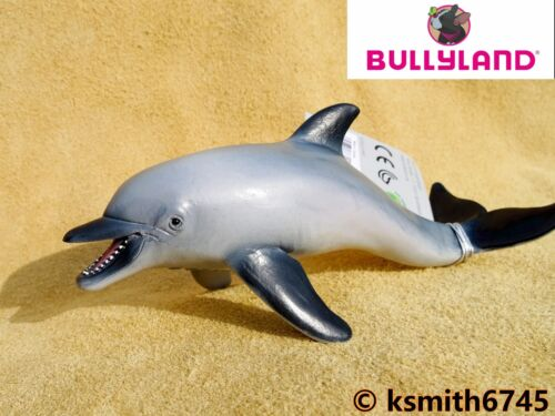 NEW * Bullyland DOLPHIN solid plastic toy wild zoo marine sea animal