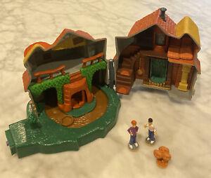 Mattel World Of Hogwarts THE BURROW Weasley Home Micro Playset Ron Harry Gnomes