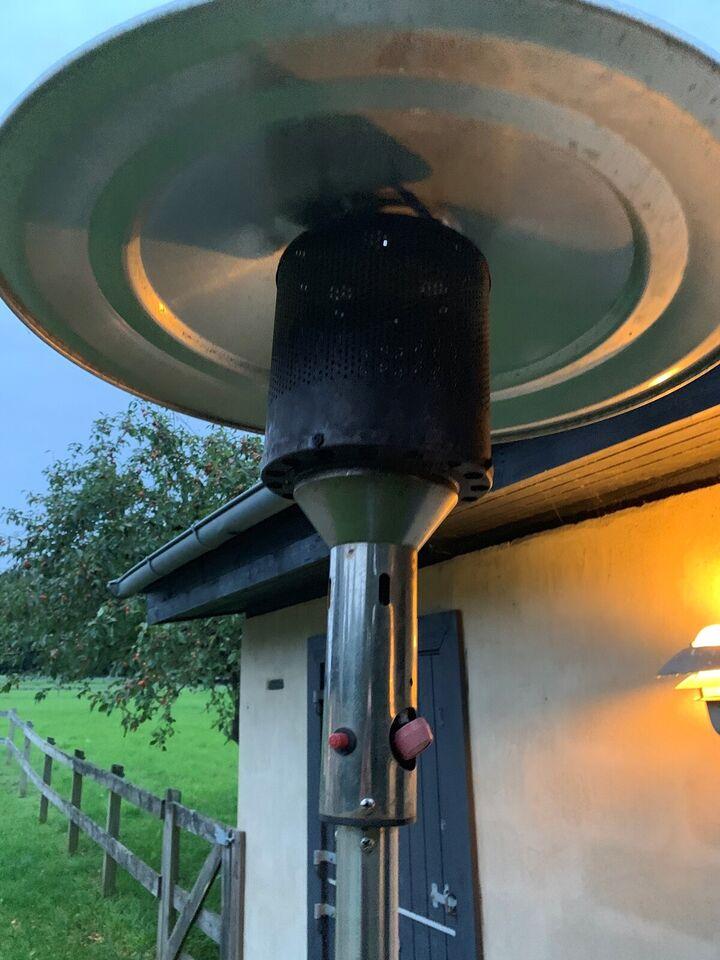 Terrassevarmer, Rustfri stål