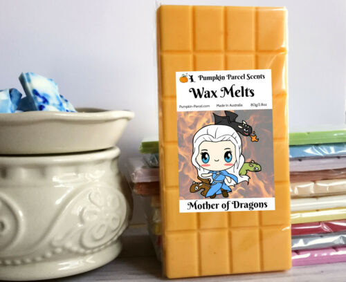 Triple Scented Book TV Game Of Thrones Wax Melt Snap Bar Mother Of Dragons