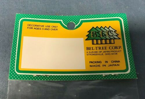 BEL-TREE CORP Dolly Eyes 4 pcs Doll Eyes Brown 7mm New In Package