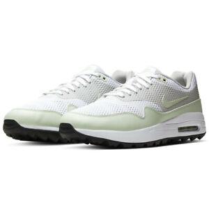 Nike-Air-Max-1-G-Golf-Schuhe-UK-6-amp-9-5-weiss-gruen-ci7576-111