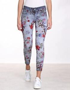 Gang Gioia Cargo Skinny Damen Pants / blue flint stone iso