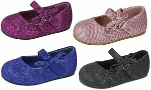 Filles-Spot-On-Decontracte-Noeud-Paillette-Finition-Rose-Violet-Bleu-Noir