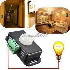 Dc 12v 24v 8a Automatic Infrared Pir Motion Sensor Switch For Led Light Stylish