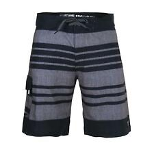 Beautiful Giant Men's Striped Beach Vacation Swim Trunks Swimwear Board Shorts