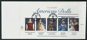Scott #3151a-h, 1997 Classic American Dolls, 3 First Day Covers (3 Scans)