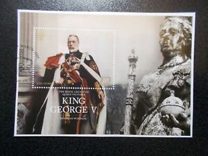 GB-Jersey-2016-Commemorative-Stamps-George-V-M-S-Fine-Used-Set-on-piece-UK