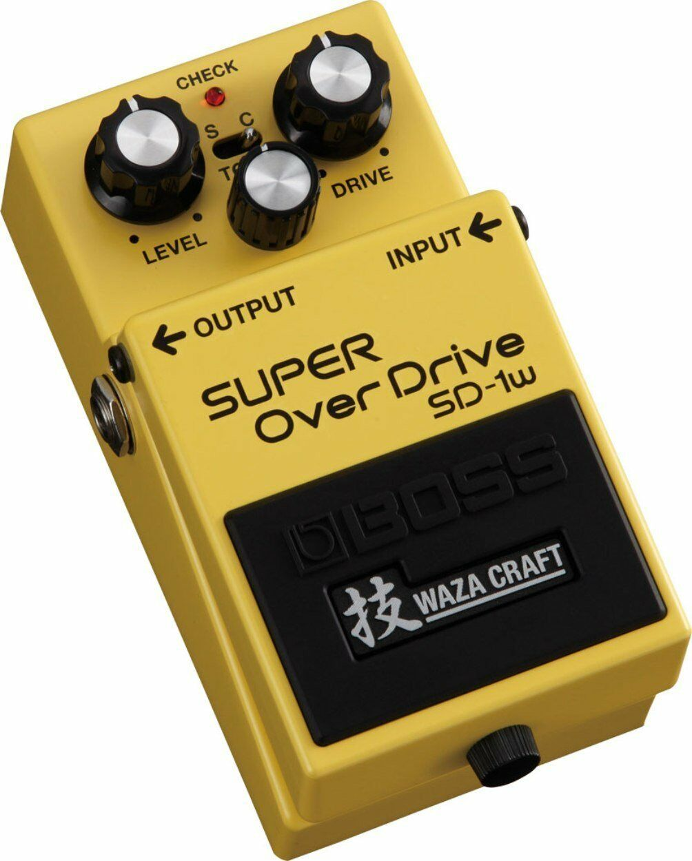 New BOSS SD-1W Super OverDrive Guitar Effects Pedal WAZA CRAFT From Japan