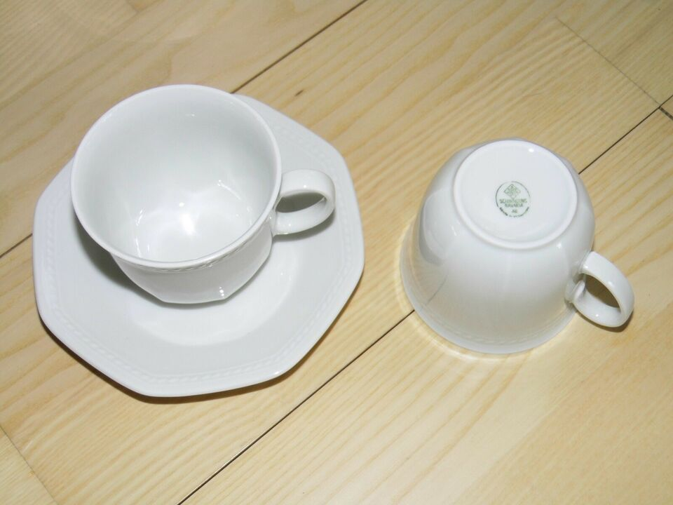 Porcelæn, Kaffekopper
