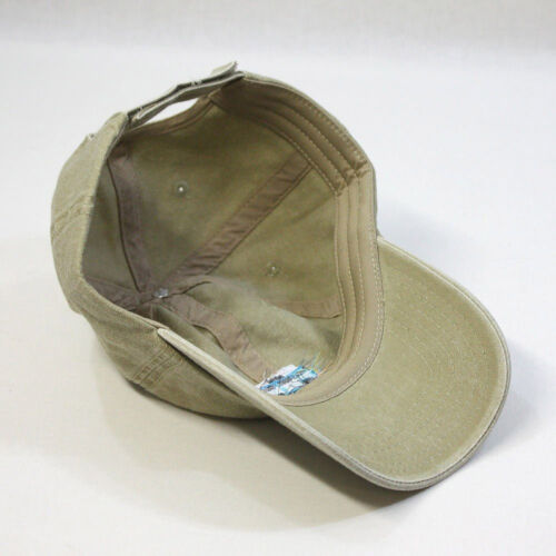 Embroidered Vintage Washed Cotton Adjustable Dad Hat Baseball Cap