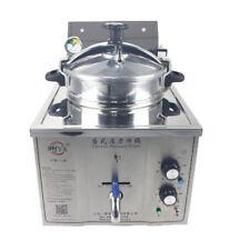 220v Commercial Electric Pressure Fryer 15l Electric Frying Oven 50 200c