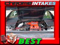 K&n+black Red 84 85 86-88 Pontiac Fiero Se/gt 2.8l V6 Air Intake Induction Kit