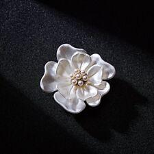 Wedding Party Artist Dancing Beauty KC Gold Plated Pearl Drip Mermaid Brooch Pin