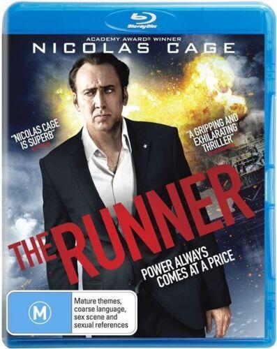 1 of 1 - The Runner (Blu-ray) Drama, Thriller Nicolas Cage, Sarah Paulson, Peter Fonda