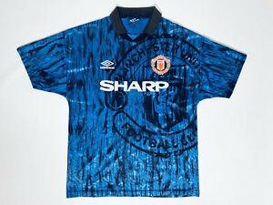 Manchester United Adult M Away Football Shirt 1992 - 1993 Umbro / Sharp