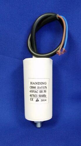 CBB60-D110 10uf 450 Volt Handing Round Motor Run Capacitor