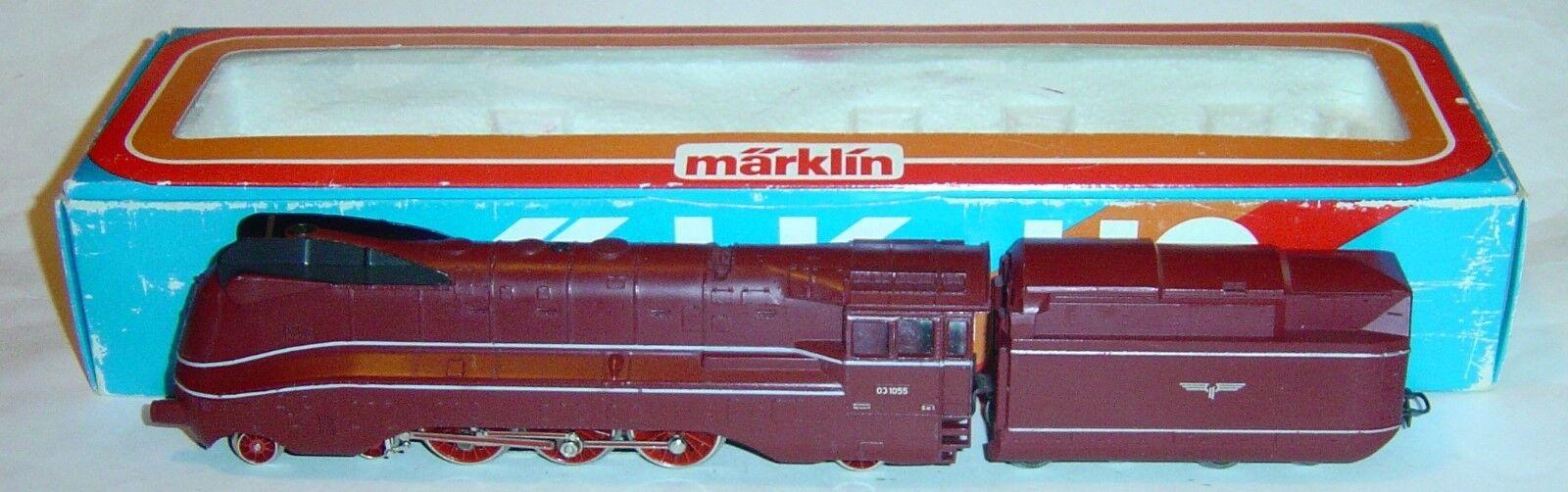MARKLIN HO, LOCOMOTORA DE VAPOR BR03 1055 REF. 3089 ¡CON FUMIGENO , ¡DIGITAL ,