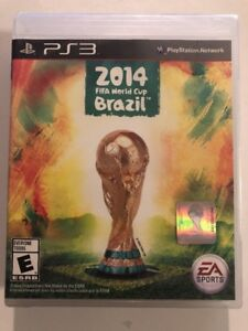2014 FIFA World Cup Brazil Sony PlayStation 3  Factory Sealed!  Free ... 5eb01af02