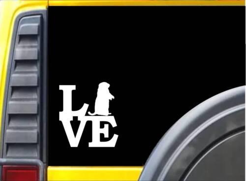 Groundhog Love L122 6 inch Marmot decal sticker