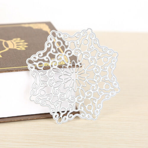 Flower box Metal DIY Cut Die Stencil Scrapbook Album Paper Card EmbossCraft Fp