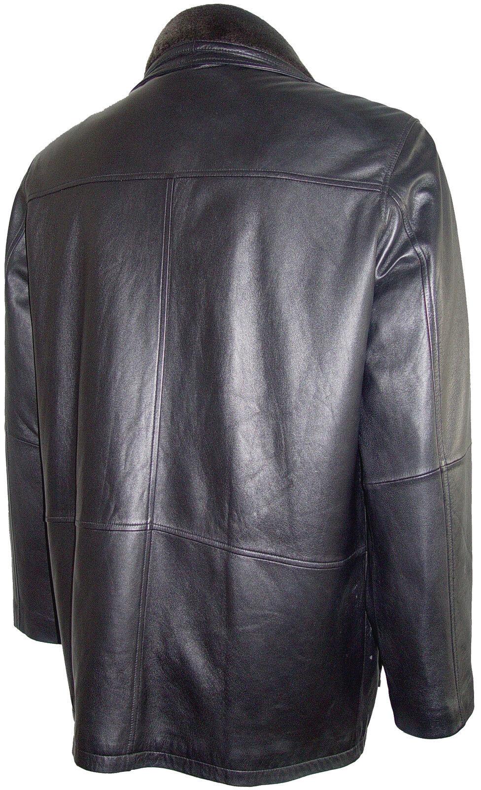 2002 Tall Man Geschäft Clothing  Leder Barn Coats All Größe