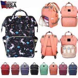 Details About Ergo Diaper Bag Backpack Mummy Maternity Ny Large Capacity Baby Travel