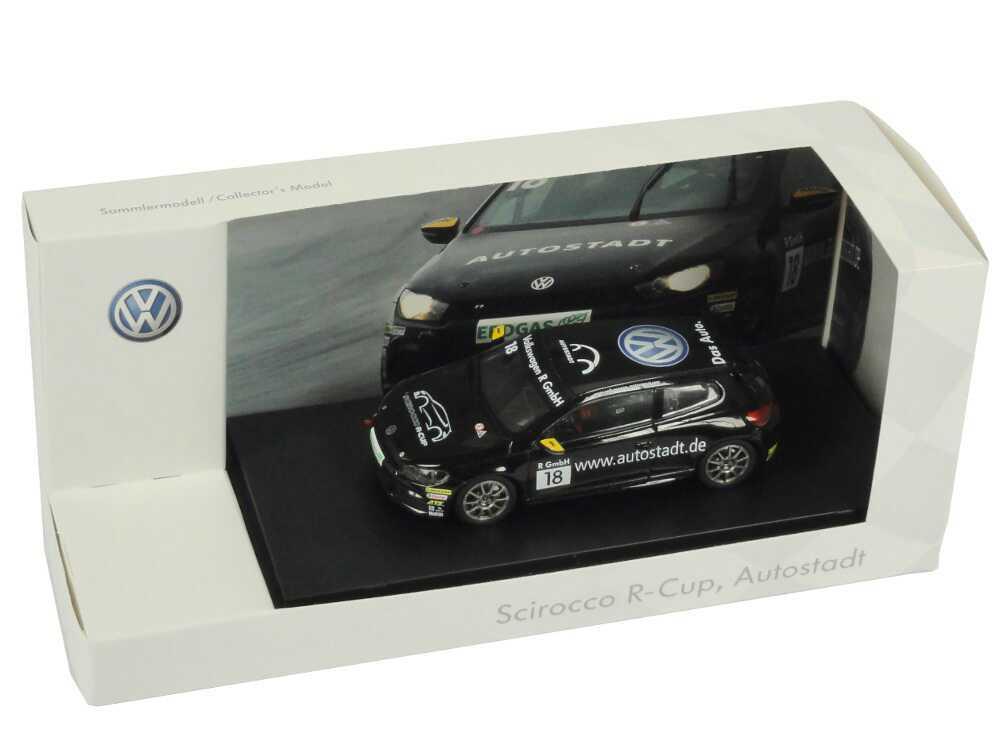 1 43 VW SCIROCCO III R-Cup 2010 Auto City No. 18 Felix Tigges Volkswagen Dealer