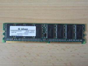 Infineon-DDR-333-PC2700-256MB-Modul-DDR1-DDR-RAM-Arbeitsspeicher