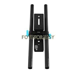 FOTGA-DP3000-15mm-Rail-Rod-Support-Baseplate-Mount-For-DSLR-Follow-Focus-Rig-5D3